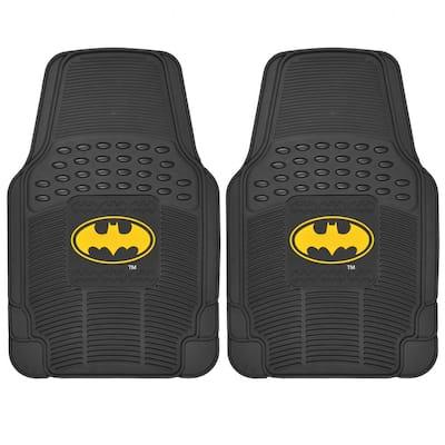 Original Batman WBMT-1372 Rubber 2-Piece Car Floor Mats
