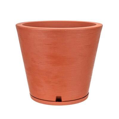 Genebra Small Terracotta Resin Planter Bowl