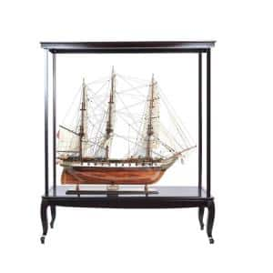 Dahlia Abstract Display Case for Extra Large Ship No Glass