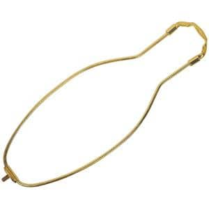10 in. Polished Brass Detachable Harp