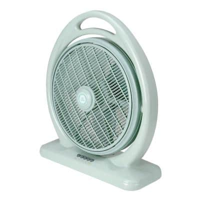 14 in. 3 Speeds Box Fan with Louver Rotation