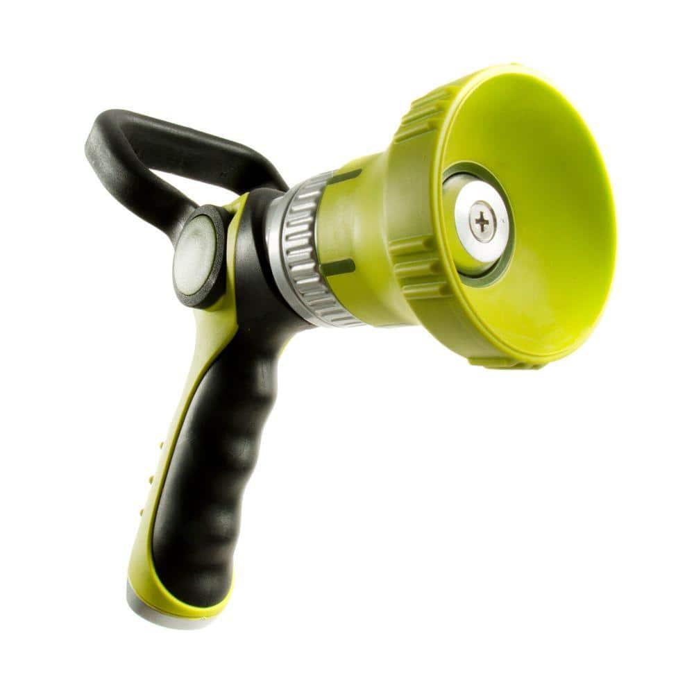 175Psi Durable Water H Heavy Duty Hose Nozzle Homitt Fireman Style Hose Nozzle