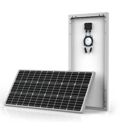 600-Watt Monocrystalline OffGrid Solar Power Kit with 6 x 100-Watt Solar Panel, 50 Amp MPPT Charge Controller