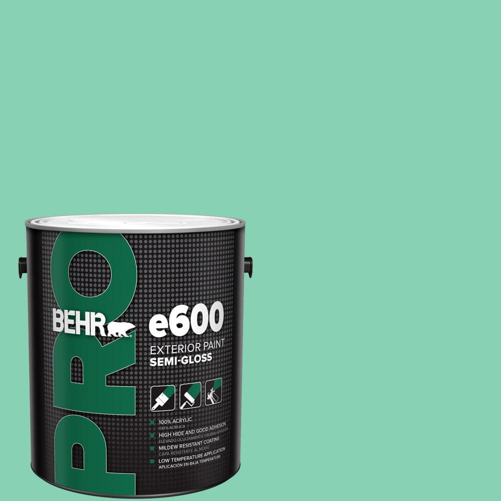 Behr Pro 1 Gal P420 3 Tropical Trail Semi Gloss Exterior Paint Pr67001 The Home Depot
