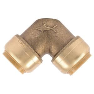 3/4 in. Push-to-Connect Brass 90-Degree Elbow Fitting