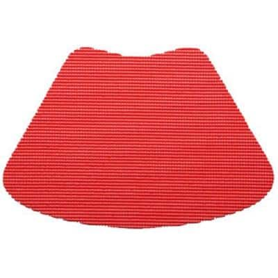 Fishnet Wedge Placemat in Flag Red (Set of 12)