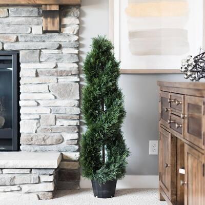 4 ft. Cedar Double Spiral (UV)