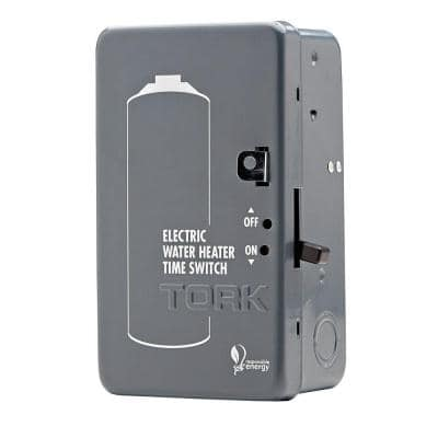 40 Amp 24-Hour Automatic ON/OFF Time Switch for Electric Water Heater