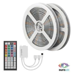 Aura 48 ft. LED Multi-Strip Light with A/C Power Adapter