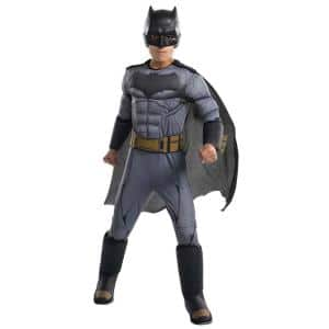 LICENSED DELUXE BATMAN JUSTICE LEAGUE ADULT MENS SUPERHERO HALLOWEEN COSTUME