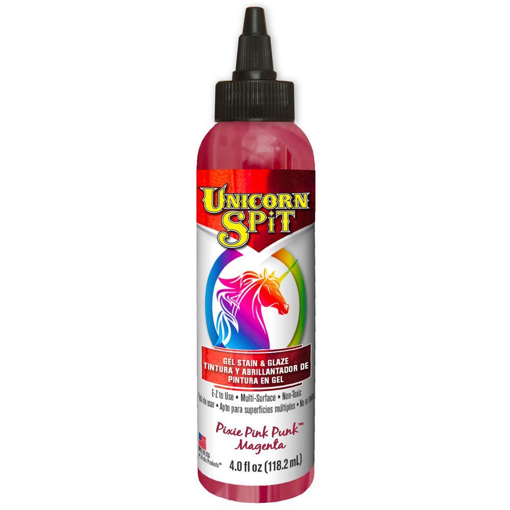 4 fl. oz. Pixie Punk Pink Gel Stain and Glaze Bottle (6-Pack)