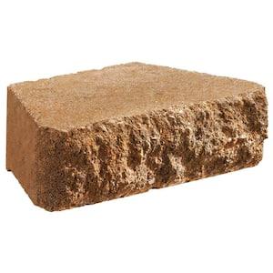 Carlton 3 in. x 10 in. x 6 in. Tan Concrete Retaining Wall Block
