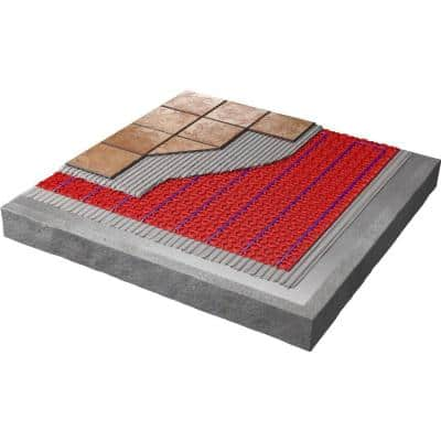 47 ft. 2 in. x 3 ft. 3 in. DCM-PRO Fleece-Backed Uncoupling Membrane (Covers 150 sq. ft. Total)