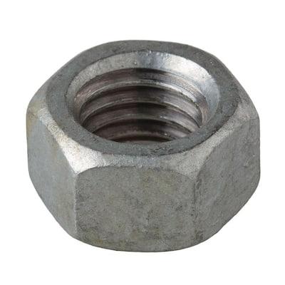 1/4 in.-20 Galvanized Hex Nut (100-Pack)