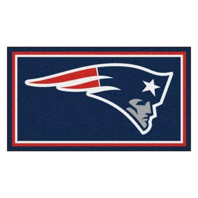NFL - New England Patriots 3 ft. x 5 ft. Ultra Plush Area Rug