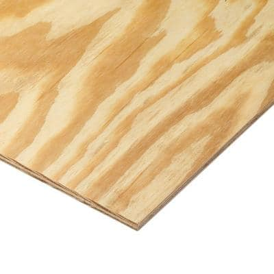 1/4 in. x 4 ft. x 8 ft. BC Sanded Pine Plywood