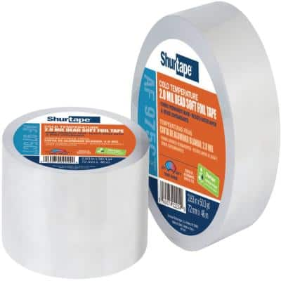 2.83 in. x 50 yds. Aluminum Foil Extreme Weather Duct Tape