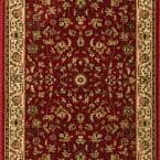 Sapphire Sarouk Claret 26 in. x Your Choice Length Stair Runner