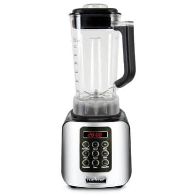 57 oz. 5-Speed Black Digital Countertop Blender with Pulse Blend, Adjustable Time and Speed Settings
