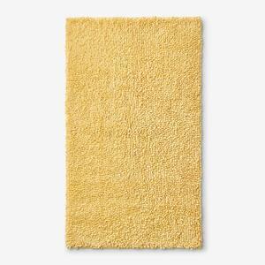 Company Cotton Chunky Loop Lemon 17 in. x 24 in. Bath Rug