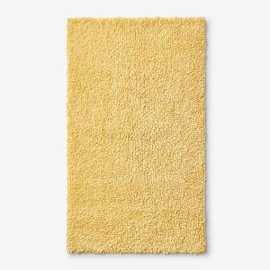 Company Cotton Chunky Loop Lemon 24 in. x 40 in. Bath Rug