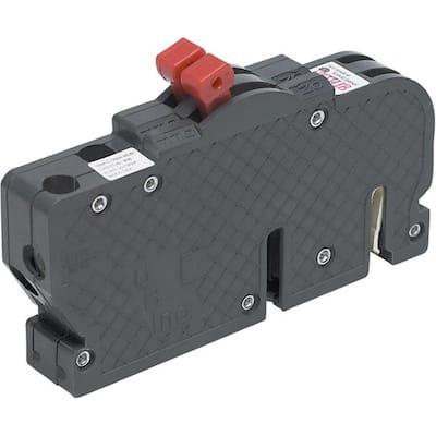 New UBIZ Thin 20 Amp/20 Amp 3/4 in. 1-Pole Zinsco Twin Replacement Circuit Breaker