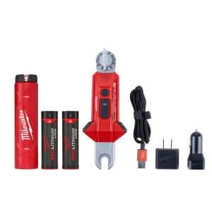 350 Lumens LED Rechargeable Utility Hot Stick Flashlight
