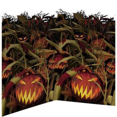 48 in. Halloween Field of Screams Scene Setters Room Roll