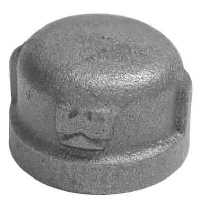 3/8 in. Galvanized Malleable Iron Cap