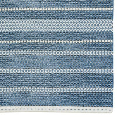 Oxfordshire Navy Blue 8 ft. x 10 ft. Hand Loomed Area Rug