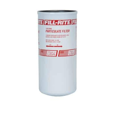 1 1/2 in. 40 GPM 10 Micron Particulate Spin-On Fuel Filter
