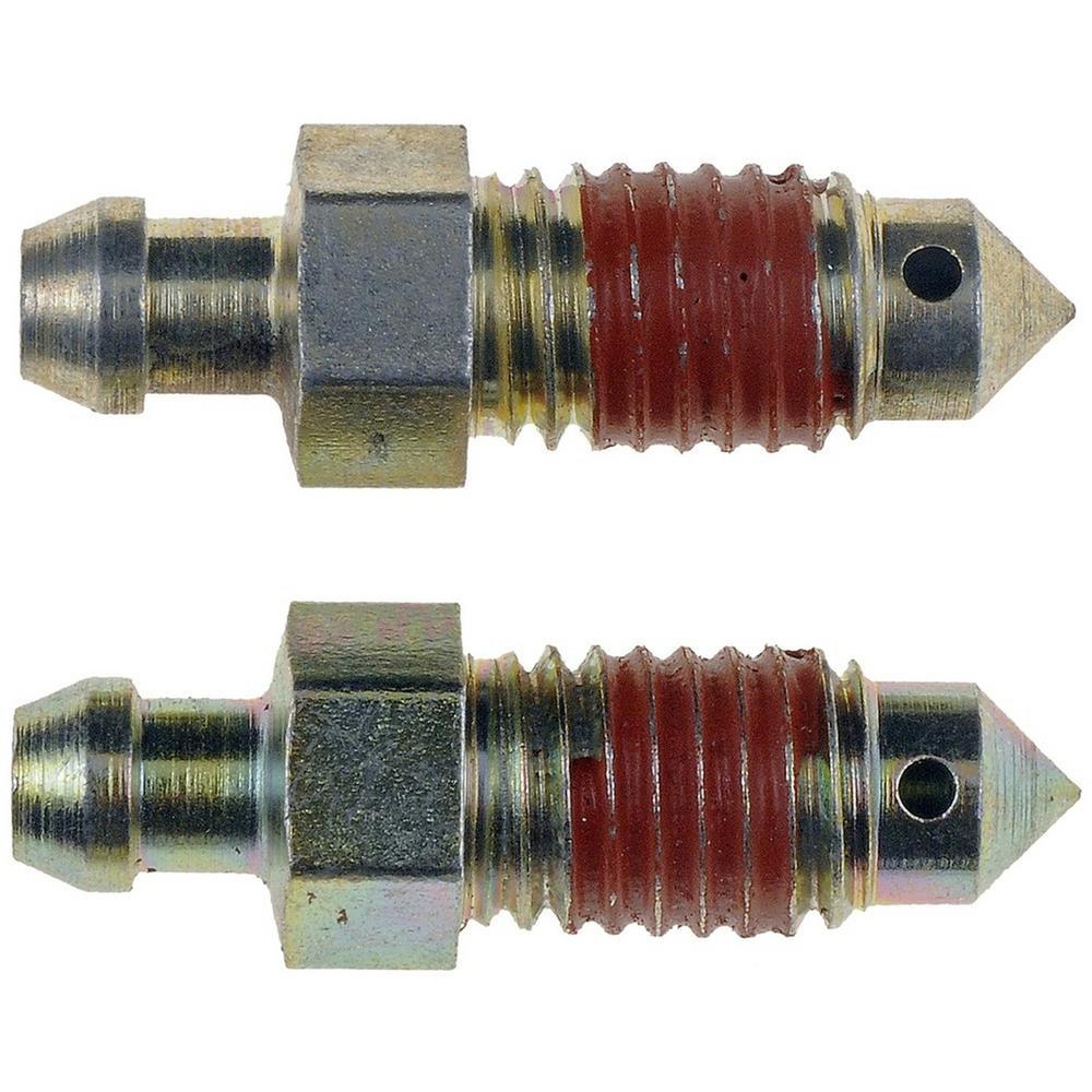 Brake Bleeder Screws - Quick Bleeders - M10-1.5 X 33mm (2-pack)