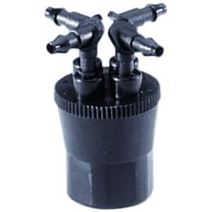6 GPH 4-Outlet Retrofit Drip Manifold