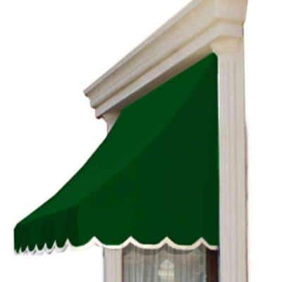 8.38 ft. Wide Nantucket Window/Entry Awning (44 in. H x 36 in. D) in Forest