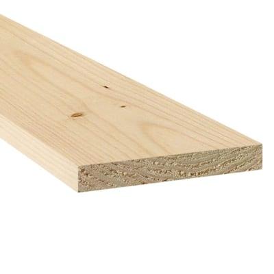 1 in. x 8 in. x 8 ft. Square Edge Spruce Common Board