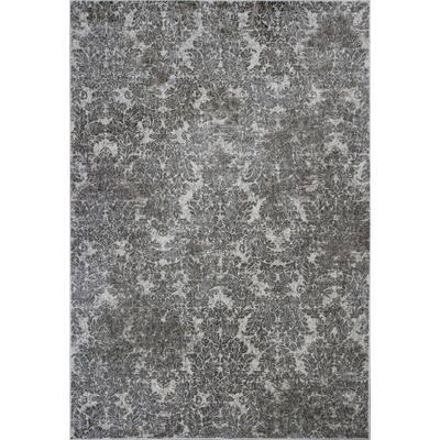 Bernadette Multi-Color 3 ft. x 4 ft. Rectangle Silk Blend Area Rug