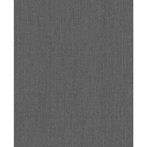 Rhea Charcoal Vinyl Peelable Roll (Covers 56 sq. ft.)