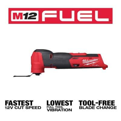 M12 FUEL 12-Volt Lithium-Ion Cordless Oscillating Multi-Tool (Tool-Only)