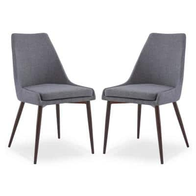 Ethen Grey Dining Chair (Set of 2)