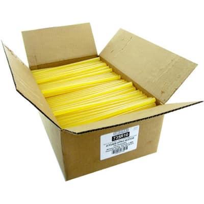 10 in. x 7/16 in. Dia High Strength Full Size Glue Sticks (25 lb. Bulk Pack)