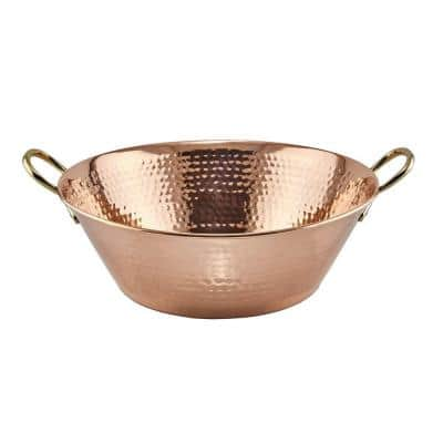 Solid Copper Hammered Preserve Pan/Tray