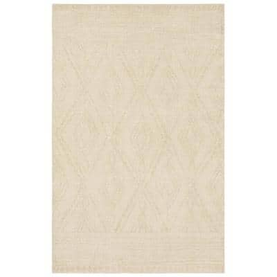 Nomad Vado Ivory 5 ft. x 8 ft. Moroccan Area Rug