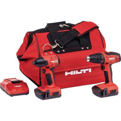22-Volt Lithium-Ion Cordless Impact Drill Driver/Drill Driver Combo Kit (2-Tool)