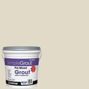 SimpleGrout #333 Alabaster 1 Gal. Pre-Mixed Grout