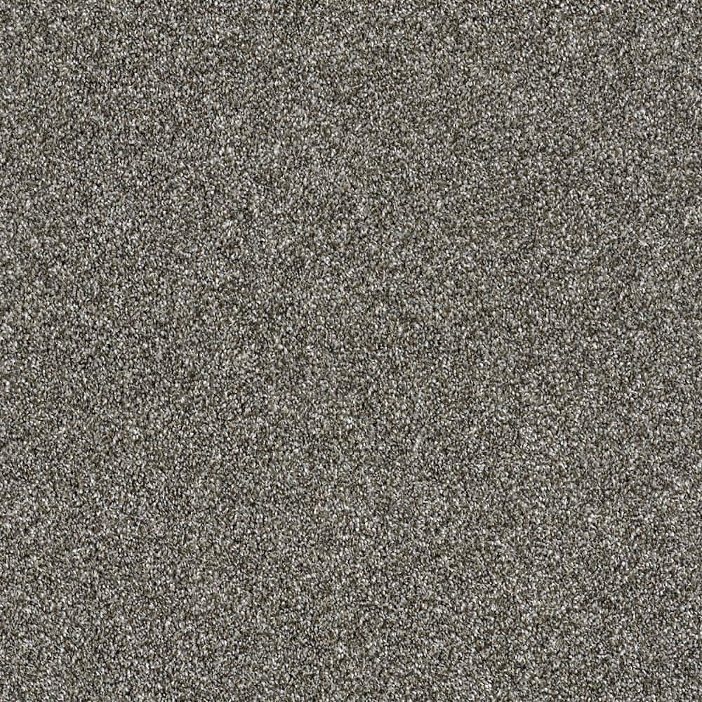 Home Decorators Collection Kaleidoscope I - Color Pearl Gray Texture 12 ft. Carpet