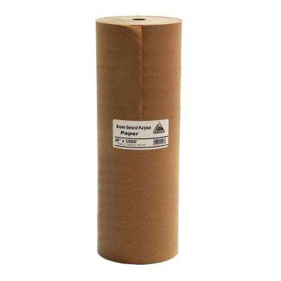 Easy Mask 36 IN. X 1000 FT. Brown General Purpose Masking Paper