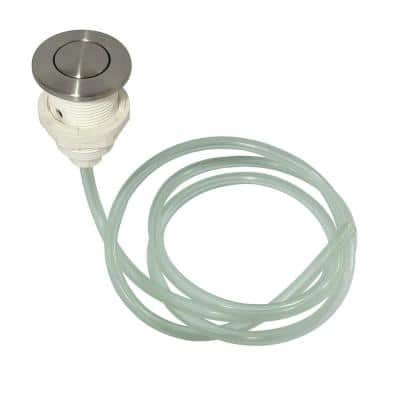 Trimscape Gourmetier Disposal Air Switch Button in Brushed Nickel