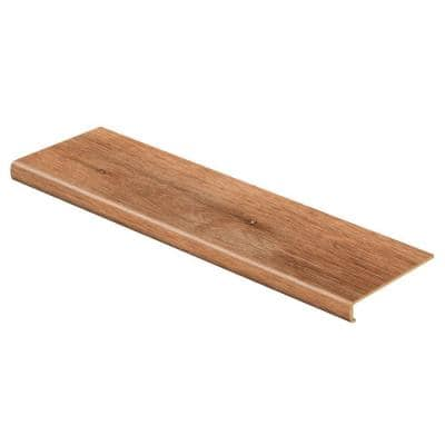 Trail Oak/Georgia Clay 47 in. L x 12-1/8 in. W x 2-3/16 in. T Vinyl to Cover Stairs 1-1/8 in. to 1-3/4 in. Thick