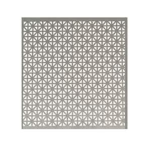 12 in. x 24 in. Union Jack Aluminum Sheet in Silver