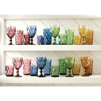Assorted Color Hygate Goblet (Set of 4)